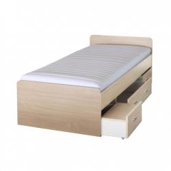 Detská posteľ DUET javor