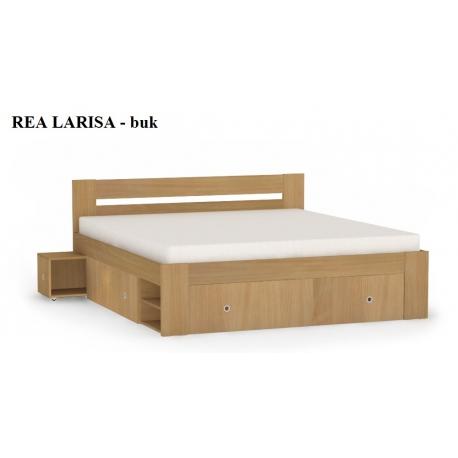 Posteľ REA LARISA, buk