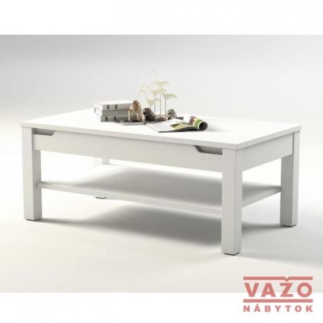 Konferenčný stolík ADONIS 9, farba:biely  lesk6