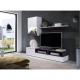 Obývačka ROSO, farba dreva: biela/sosna tmavá