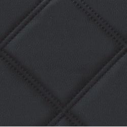 KOŽENKA čierna štvorce