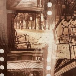 Poťahová látka PARIS hnedý
