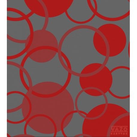 Poťahová látka GERRY 2082 - sivo-červená