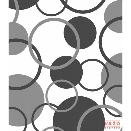 Poťahová látka GERRY 2083 - bielo - sivá